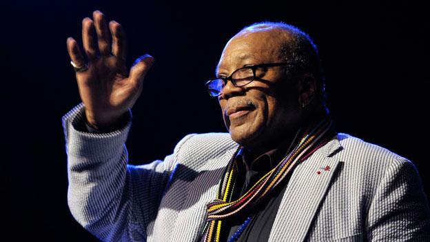 Quincy Jones am Montreux Jazz Festival 2011.