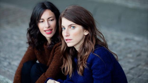 Valeska Steiner und Sonja Glass.