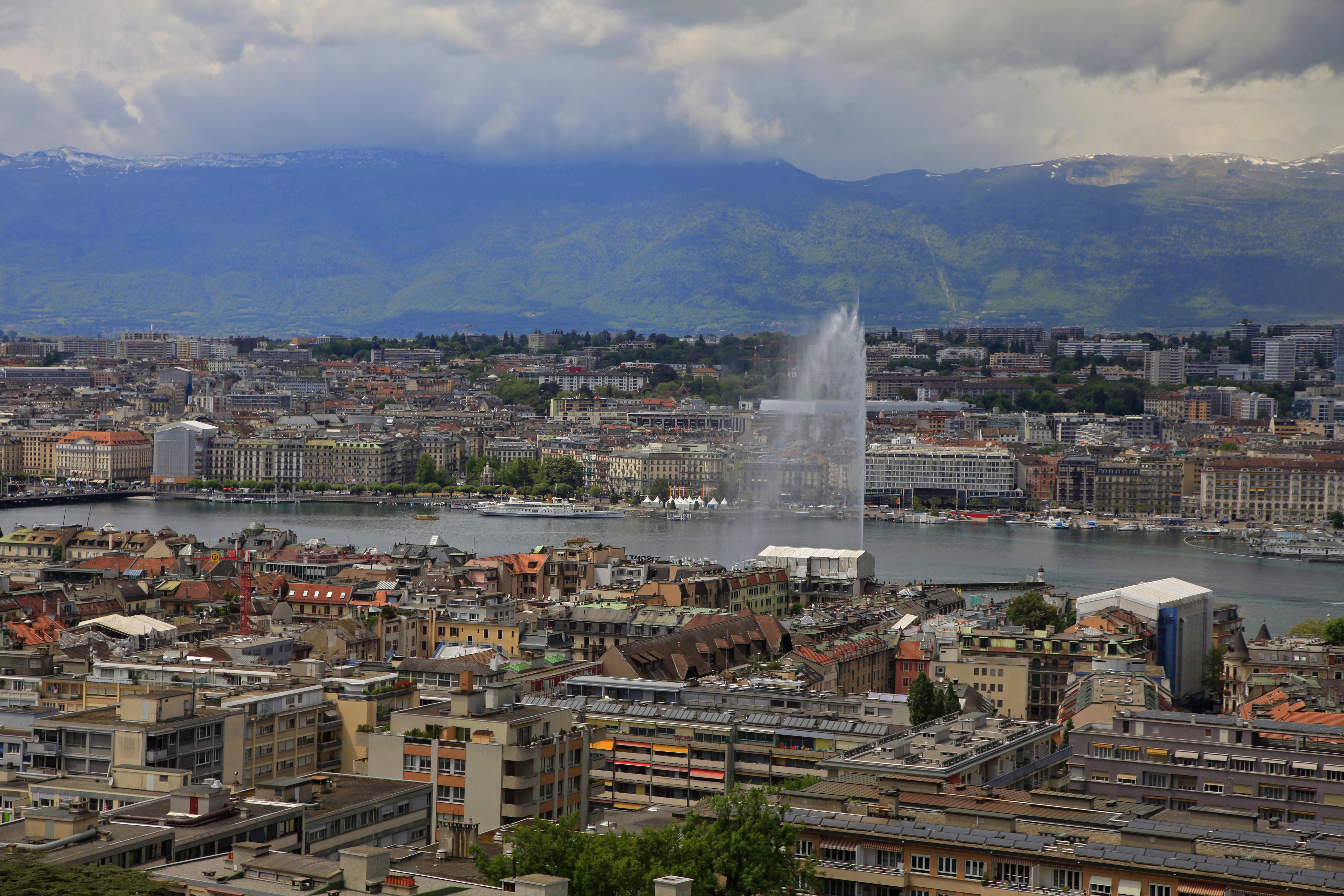 Schauplatz der Geschichte: Genf.