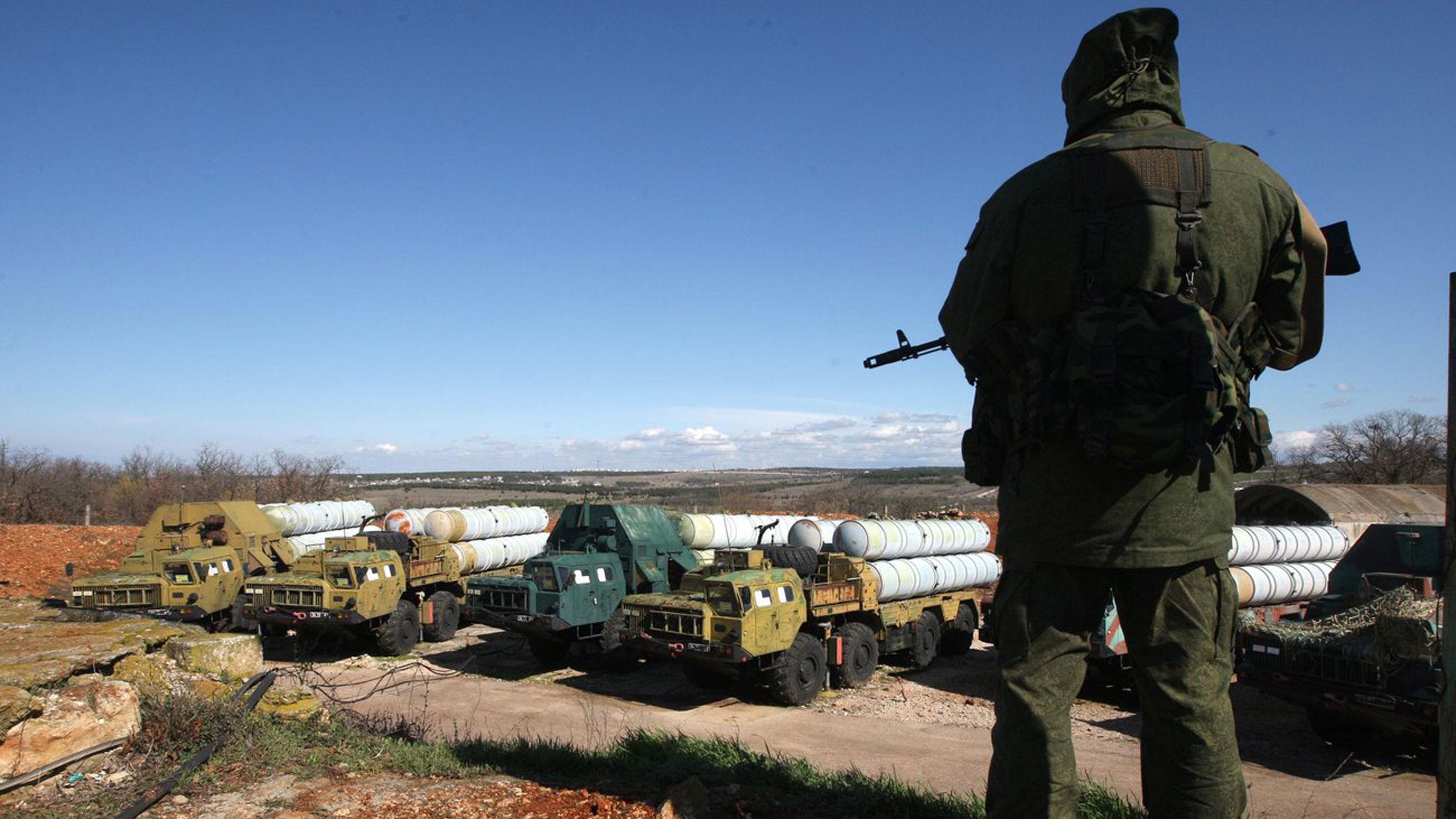 Die Situation ist angespannt auf der Krim.