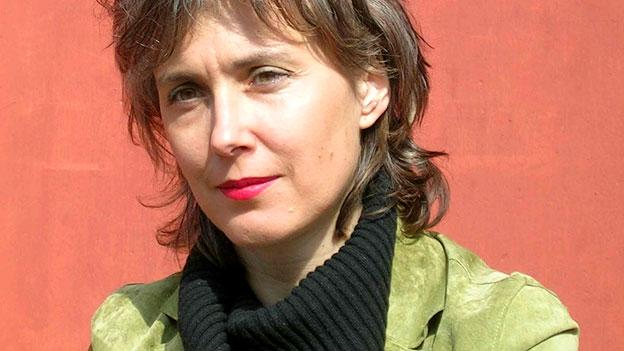 Die Schlagzeugerin Sylwia Zytynska.