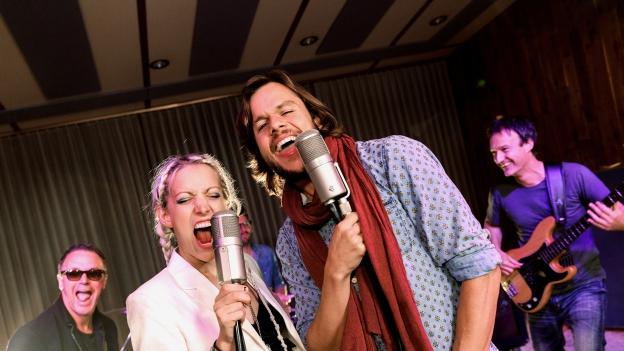 Songmates Evelinn Trouble und Matt Buchli