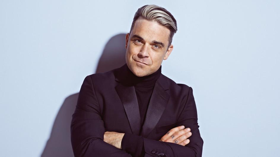 Robbie Williams zum Anfassen. Nur bei uns.