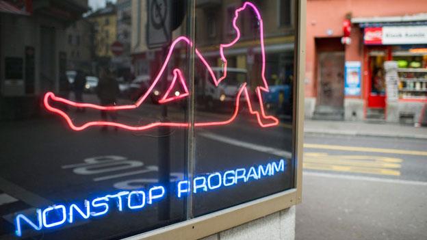 Langstrasse Zürich.