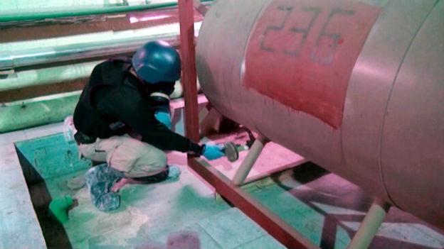 Auf heikler Mission: Chemiewaffeninspektor in Syrien.