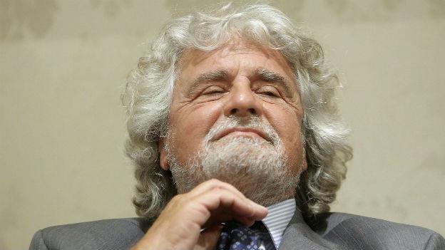 Für Beppe Grillos Fünf-Sterne-Bewegung wirds eng.