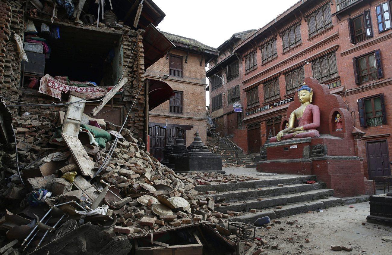 noch schwieriger wird die hilfe ausserhalb kathmandus