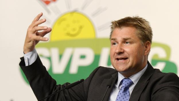 SVP-Präsident Toni Brunner.