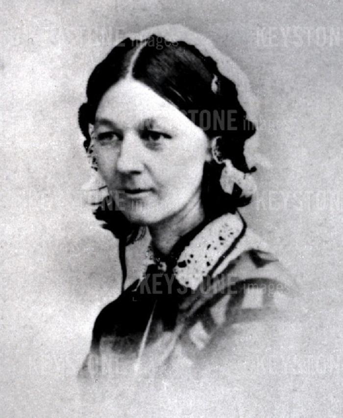 Florence Nightingale auf einem undatierten Foto.