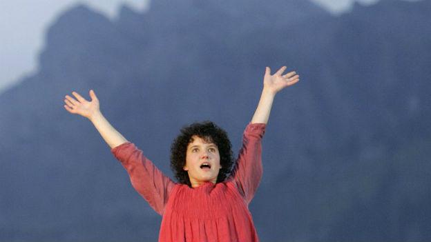 Sabine Schädler, das singende «Heidi»