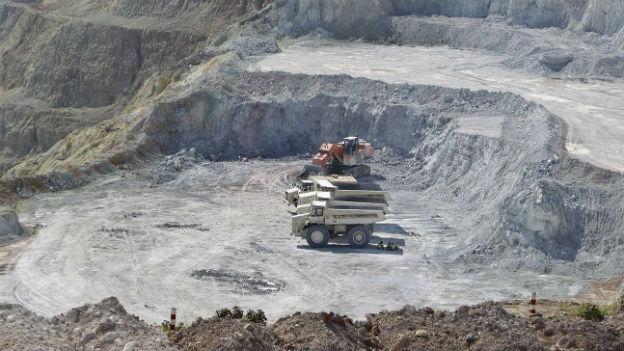 Bergbau in China
