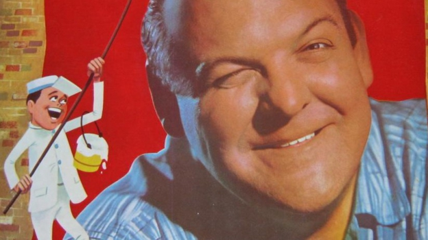 Billy May auf witzigem Plakat mit Zeichentrick-Cowboy.
