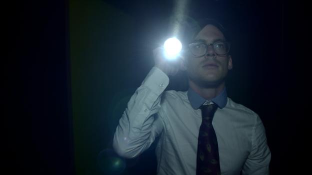 Filmstill aus dem «Schreckmümpfeli»-Jubiläumsfilm «Trace Fear».