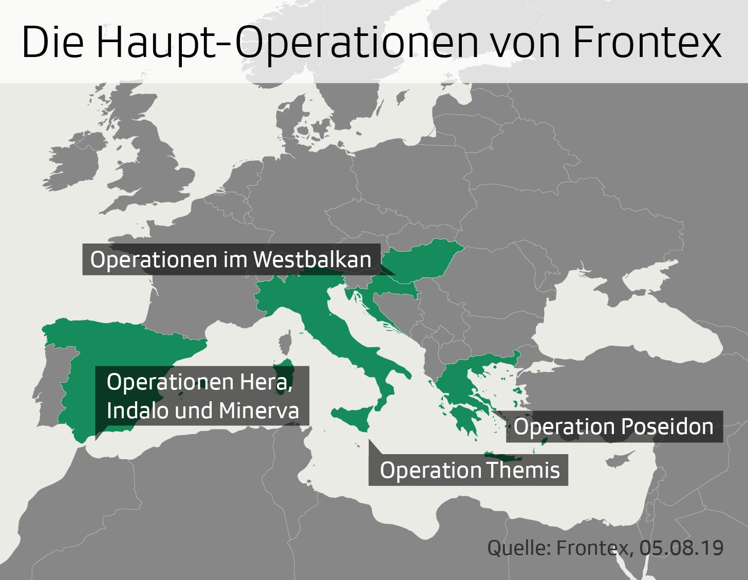 Operationen Frontex