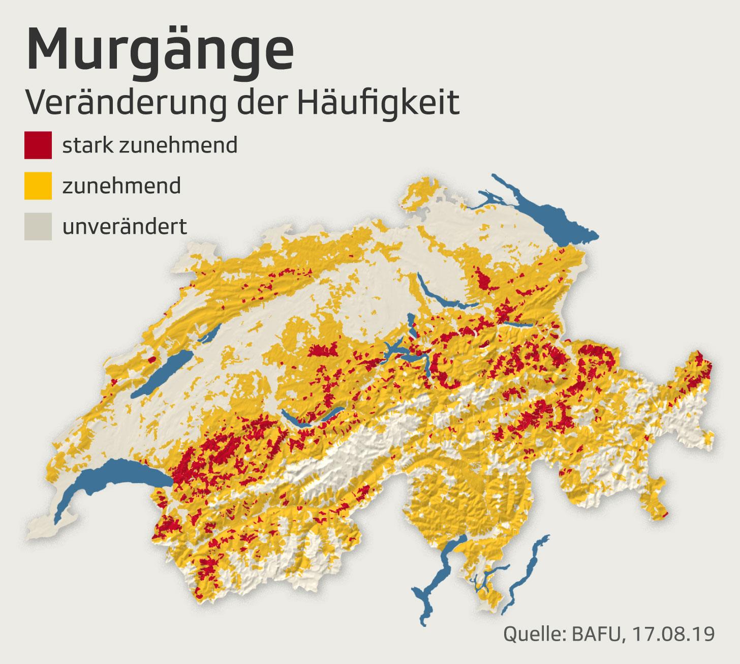 Murgänge in der Schweiz