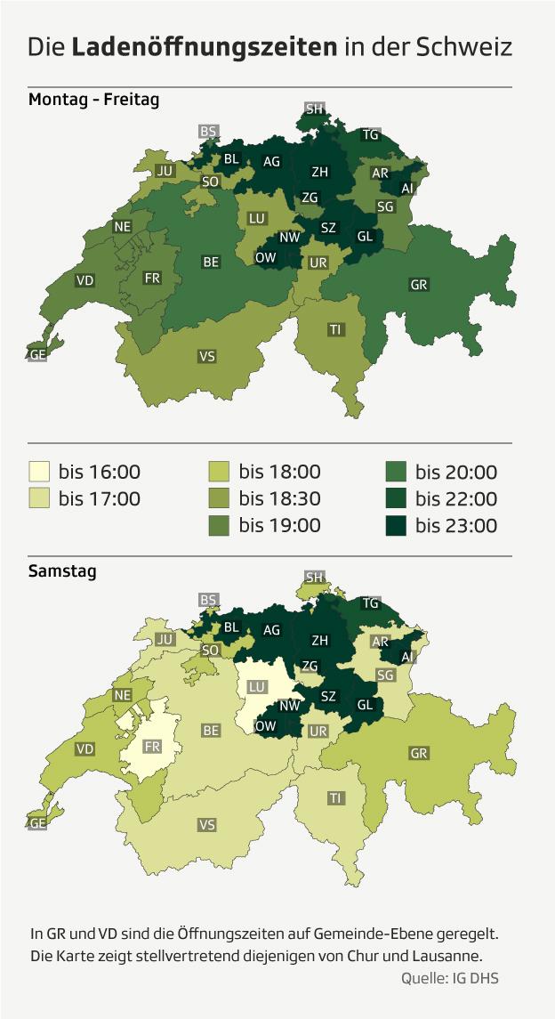 Grafik Öffnungszeiten