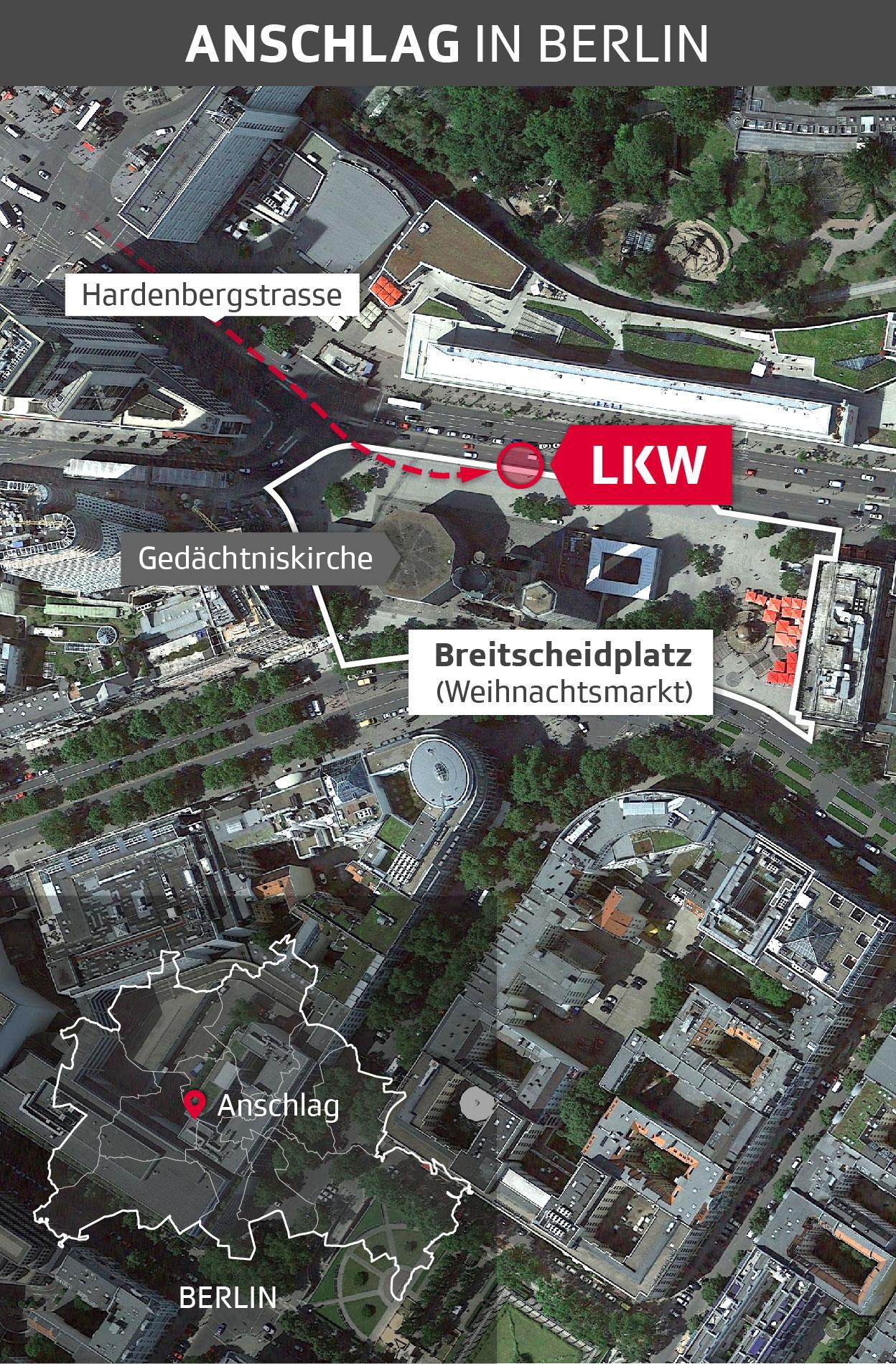 Route LKW Berlin