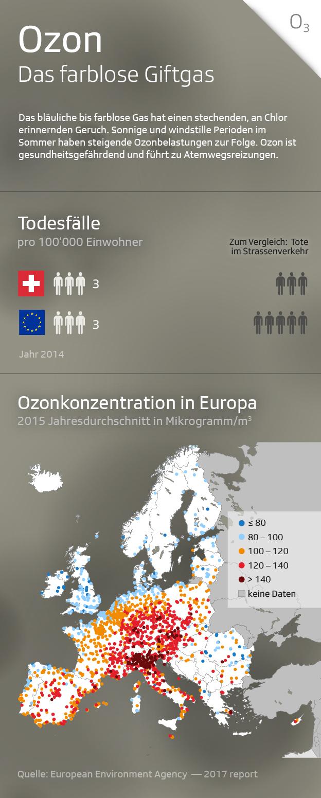 Infografik Ozon