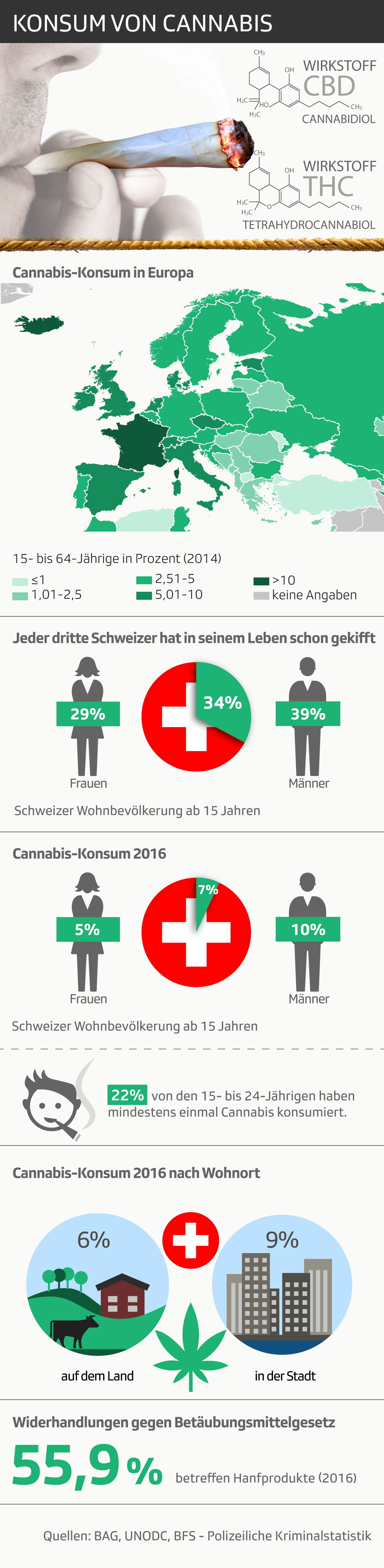 Infografik: Cannabis