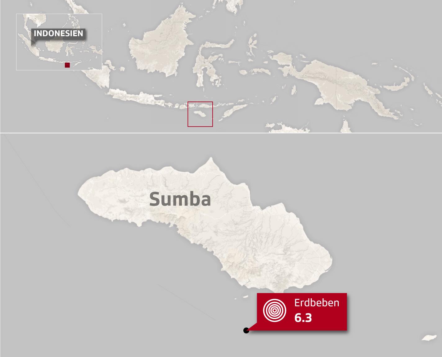 Erdbeben Sumba