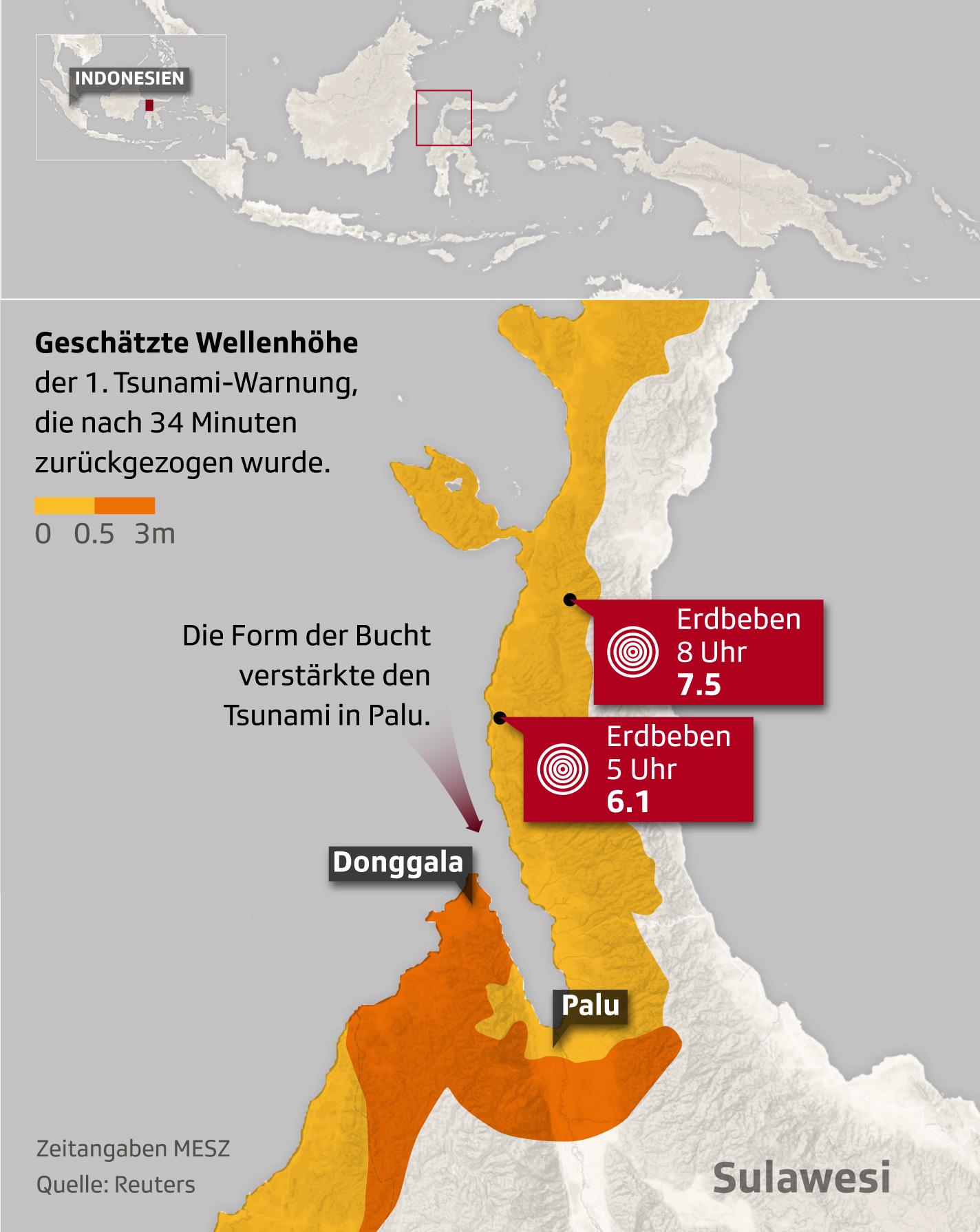 Tsunami Indonesien