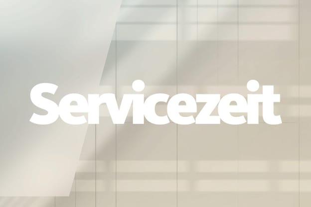 Zur Detailseite von Servicezeit