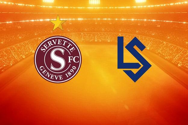 Fussball – Super League 8. Runde, Servette – Lausanne