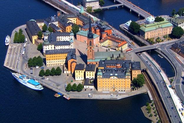 Quer durch Stockholm