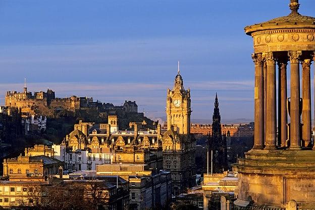 Zur Detailseite von Edinburgh - die Perle Schottlands