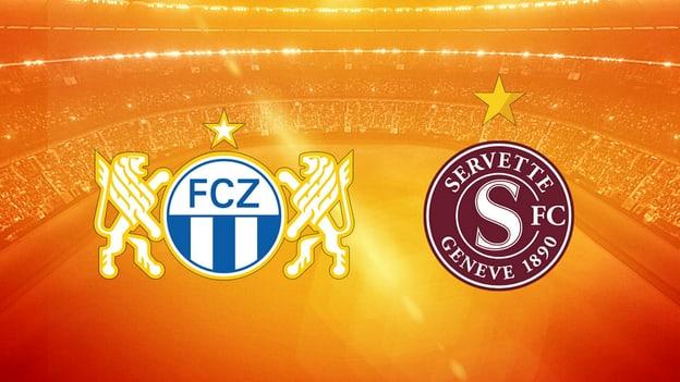 Fussball – Super League 28. Runde, Zürich - Servette