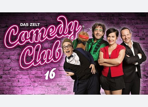 Das Zelt - Comedy Club 2016