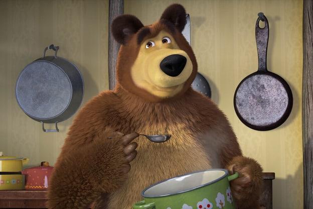 Zur Detailseite von Mascha und der Bär