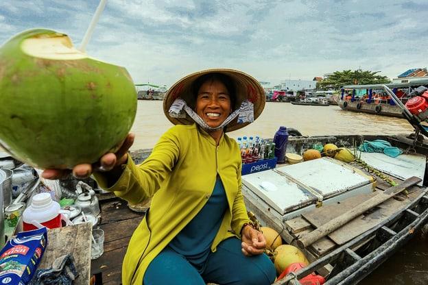 Mit dem Zug durch Vietnam