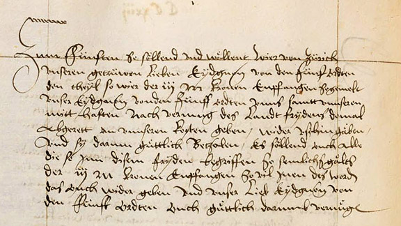 Älteste Schrift über Wilhelm Tell jetzt online