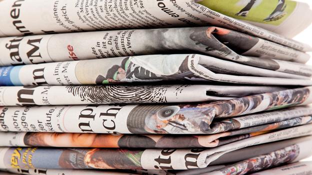 Die Zeitung - Modell ohne Zukunft?