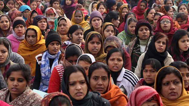 Indien - ein tödlicher Platz für Mädchen