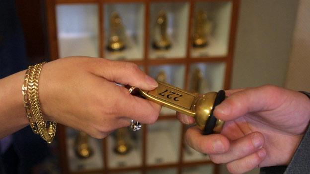 «Espresso Aha!»: Hotelschlüssel an der Reception abgeben?
