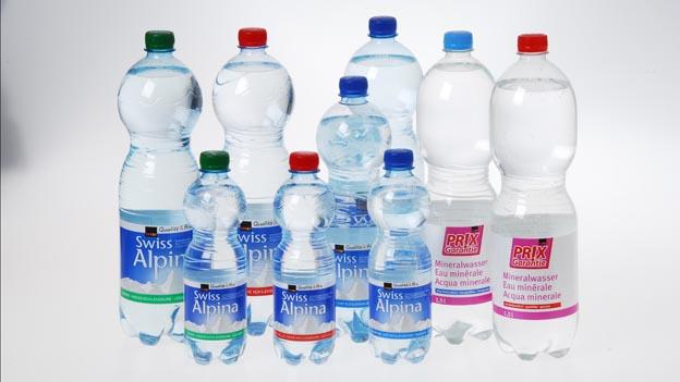 Mineralwasser von Coop stinkt
