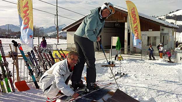 Ski-Test: «Gute Ski haben einen Holzkern»