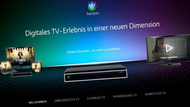 Grosser Ärger über Horizon-Box von UPC Cablecom
