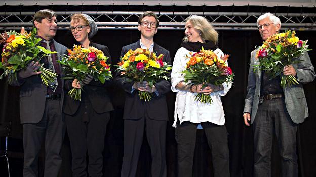 Das Finale des Schweizer Buchpreises 2012