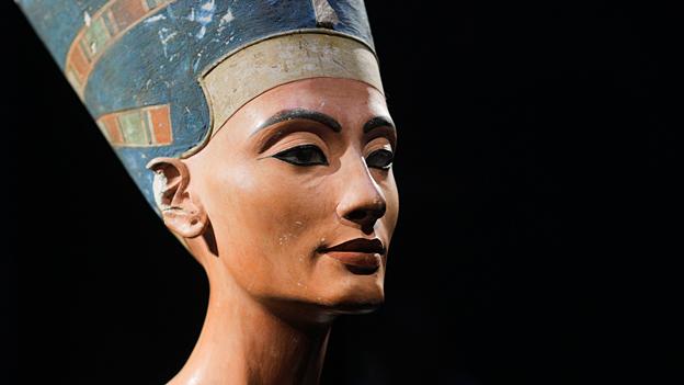 Zeitlos schön: Pharaonengattin Nofretete in Berlin