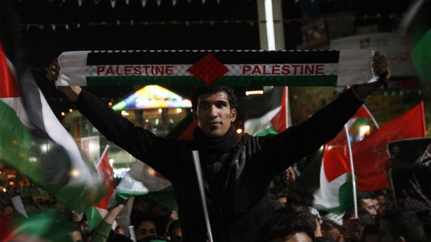 Palästina gilt bei der Uno offiziell als Staat