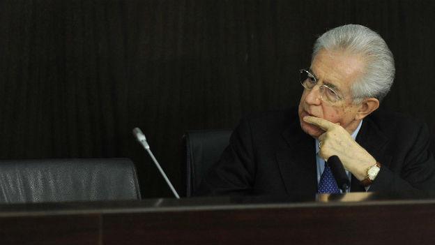 Mario Monti schliesst nicht aus zu bleiben