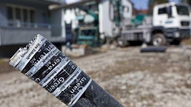 Werkzeug für Schweizer Erdgas-Träume