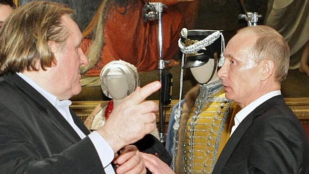 Wird Gérard Depardieu Russe?