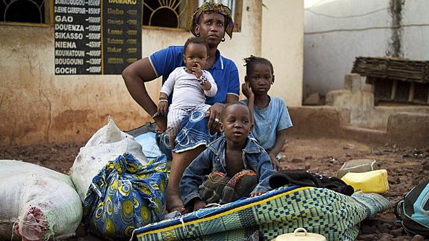 Mali - der Krieg treibt Menschen in die Flucht