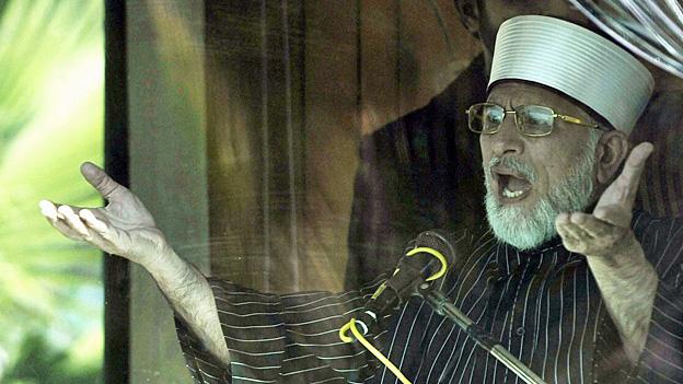 Pakistan: Tahir Qadri - aus dem Nichts zum Potitstar