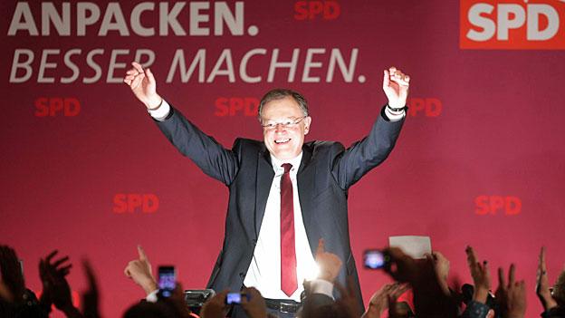 Niedersachsen - hauchdünne rot-grüne Mehrheit
