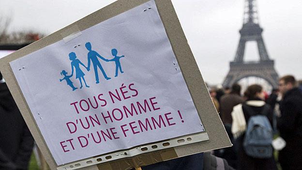 Frankreich - wieso die konservative Front gegen die Homo-Ehe?